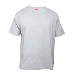 Koszulka bawełniana T-shirt rozmiar XXL szara 180g/m2 LahtiPro PROFIX L4020205
