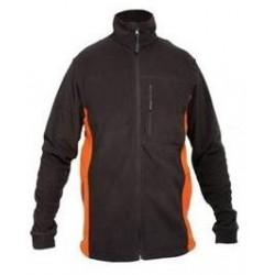 Bluza polarowa męska 290g/m2 grafitowa rozmiar XXL LahtiPro PROFIX L4010205