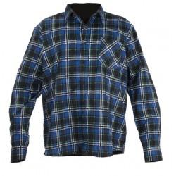 Koszula flanelowa w kratę niebieska 129g/m2 rozmiar XL LahtiPro PROFIX LPKF3XL