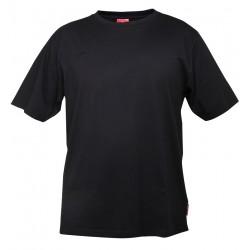 Koszulka bawełniana T-shirt czarna 180g/m2 rozmiar XXL LahtiPro PROFIX L4020505