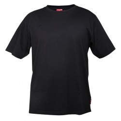 Koszulka bawełniana T-shirt czarna 180g/m2 rozmiar XL LahtiPro PROFIX L4020504
