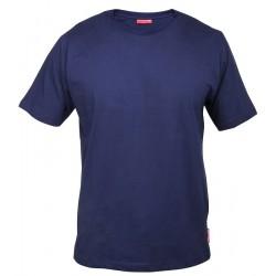 Koszulka bawełniana T-shirt granatowa 180g/m2 rozmiar XL LahtiPro PROFIX L4020304