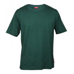 Koszulka bawełniana T-shirt zielona 180g/m2 rozmiar XXL LahtiPro PROFIX L4020605