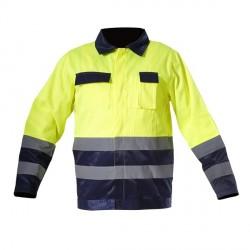 Kurtka ostrzegawcza żółta rozmiar XXL LahtiPro PROFIX L4091005