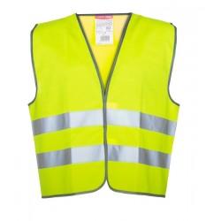 Kamizelka ostrzegawcza żółta 120g/m2 rozmiar XL LahtiPro PROFIX LPKO1XL