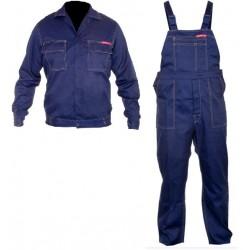 Ubrania robocze bluza i ogrodniczki Quest rozmiar XXL LahtiPro PROFIX LPQK822XL