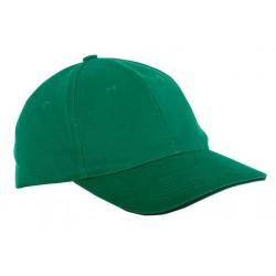 Czapka z daszkiem bawełniana zielona 1 sztuka LahtiPro PROFIX L1816300