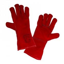 Rękawice ze skóry spawalnicze 35cm LahtiPro