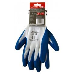 Rękawice ochronne powlekane rozmiar 9 LahtiPro PROFIX L210509K
