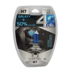 Żarówka samochodowa H7 12V BLUE GALAXY+50% 4car