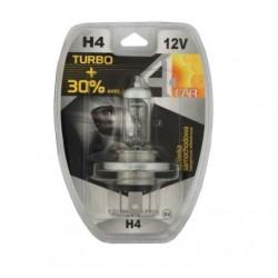 Żarówka samochodowa H4 12V TURBO +30% 4car