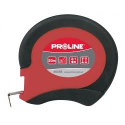 Taśma miernicza stalowa 20m Proline PROFIX 20352