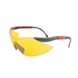 Okulary ochronne żółte z filtrem UV F1 Lahti Pro PROFIX 46039