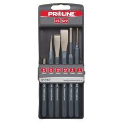 Wybijaki przecinaki i punktaki, zestaw 6 elementów Proline PROFIX 31362