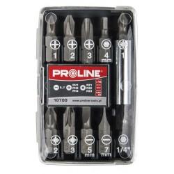Bity 1/4cala, zestaw 10 elementów Proline PROFIX 10699
