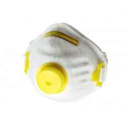 Półmaski przeciwpyłowe jednorazowe z zaworkiem 3 sztuk PROFIX 46007