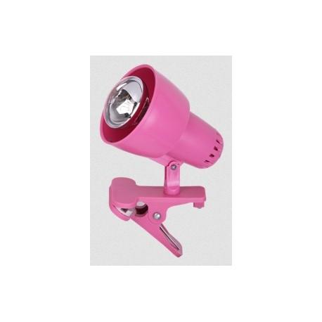RABALUX 4359 Clip Lampa na klips E14 R50 1x max40W kolor różowy