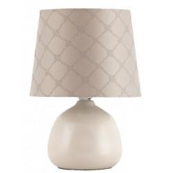 RABALUX 4380 Lampka stołowa Ellie E14 /40W beżowy