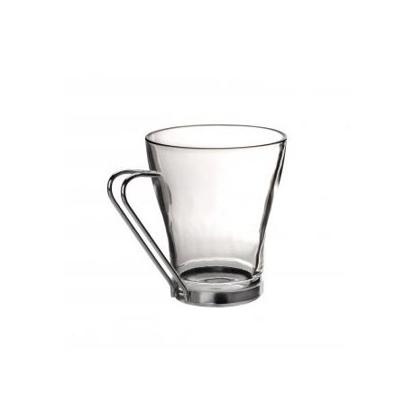 Szklanka z uchwytem metalowym 217 ml Galicja 0029