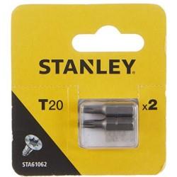 STANLEY KOŃCÓWKI WKRĘTARSKIE-TORX T20/25 2SZT