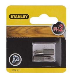 STANLEY KOŃCÓWKI WKRĘTARSKIE BITY PH2/25 2 szt