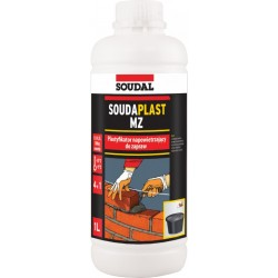 SOUDAL Soudaplast MZ 1L – 127037 wapno w płynie (0,1-0,2/100kg cementu)