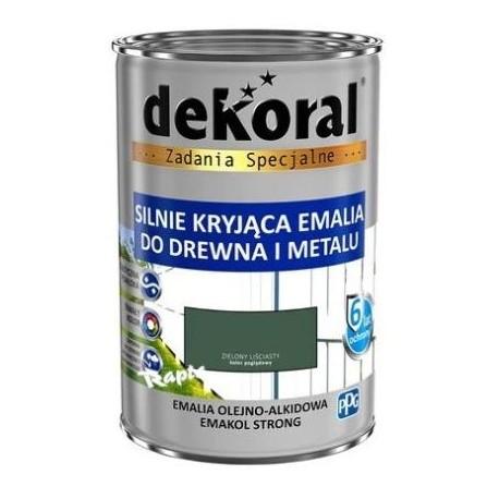 DEKORAL EMAKOL STRONG ziel.liściasty 0,9 L