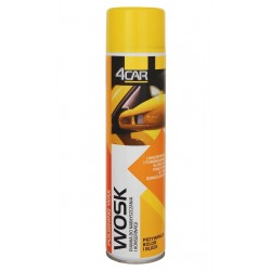 Wosk pianka w sprayu 600ml 4Car