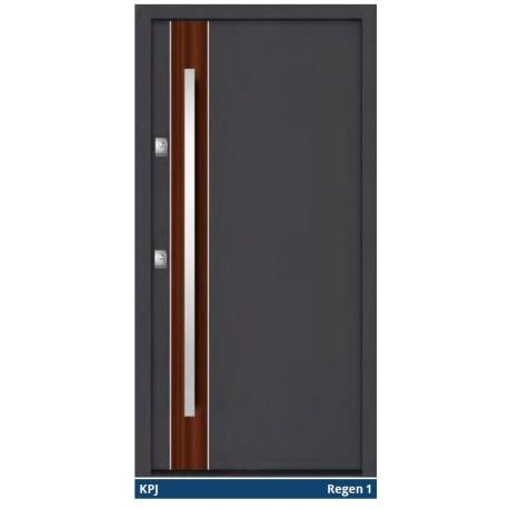 Drzwi zewnętrzne NTT REVO Quadro Regen Gerda