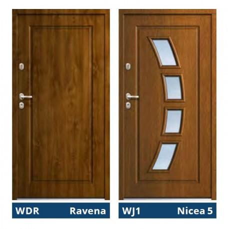 Drzwi zewnętrzne TT Optima Tempo Ravena / Nicea 5 Gerda