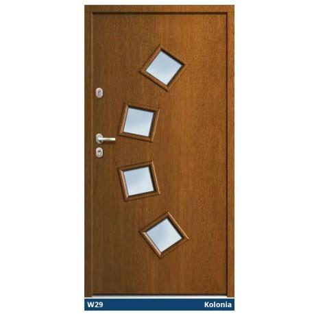Drzwi zewnętrzne TT Optima Tempo Kolonia Gerda