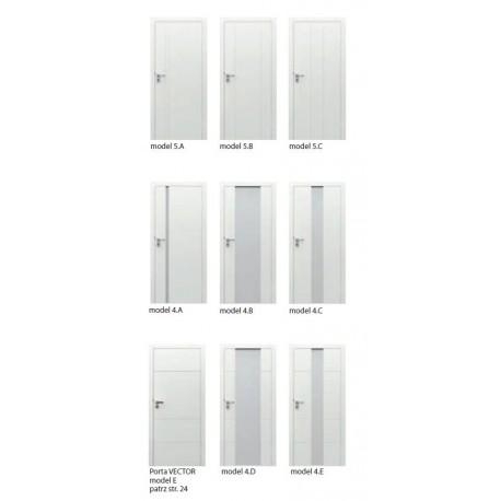 Drzwi wewnątrzlokalowe lakierowane Focus Premium Porta