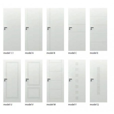 Drzwi wewnątrzlokalowe lakierowane Hide Porta