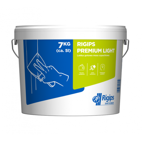 RIGIPS Premium Light 7kg lekka masa szpa chlowa