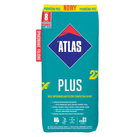 ATLAS PLUS NOWY, FOLIA 25kg