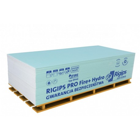 RIGIPS Płyta GKFI 1200x2600, gr.12,5mm WODO-OGNIOODPORNA PAL-60 SZT