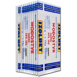 STYROPIAN FUNDAMENTOWY WODOSTYR SUPER IZOLBET EPS 100 / 0,035 / 3t