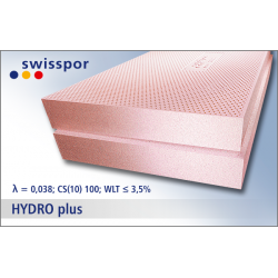 STYROPIAN FUNDAMENTOWY HYDRO PLUS SWISSPOR 038 3t