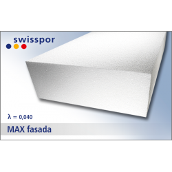 STYROPIAN EPS MAX FASADA SWISSPOR 040
