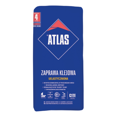 ATLAS ZAPRAWA KLEJOWA UELASTYCZNIONA 25K pal-48szt