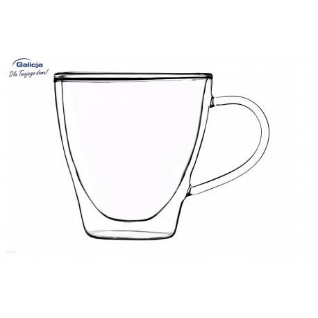 Szklanka z uchem Duo 250 ml 2 szt. Galicja 20136