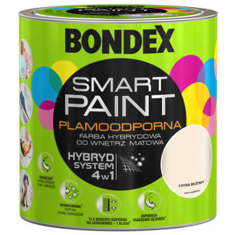 BONDEX SMART PAINT CHYBA BEŻOWY 2,5L