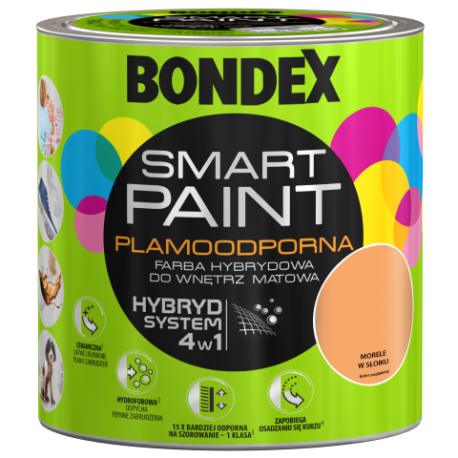 BONDEX SMART PAINT MORELE W SŁOIKU 2,5L