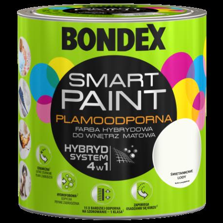 BONDEX SMART PAINT ŚMIETANKOWE LODY 2,5L