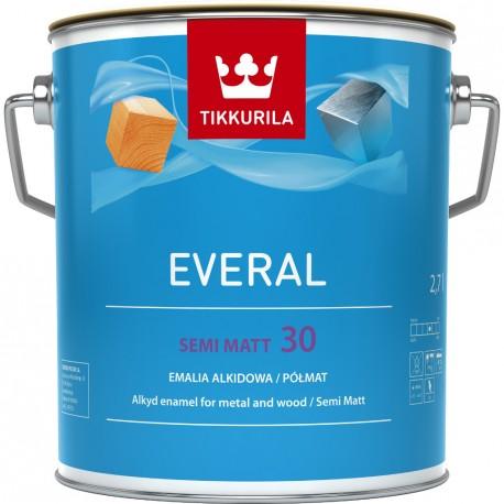 TIKKURILA Everal Semi Matt [30] BC 0,9L