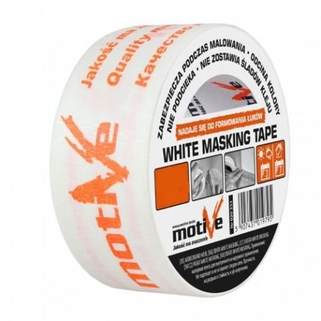 INTER-S WHITE MASKING TAPE 30mm/50m MOTI VE