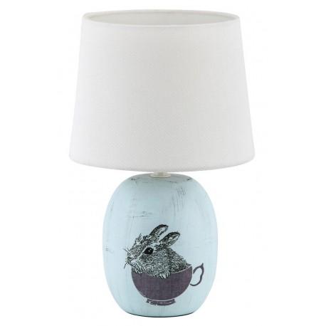 RABALUX 4603 Lampka stołowa Dorka E14 40 W szary