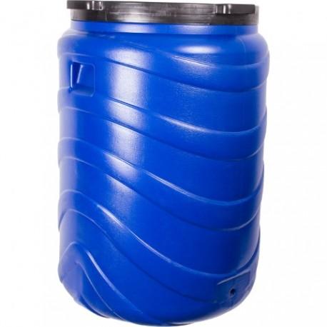 BROWIN Beczka na kiszonki 130L niebieska