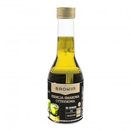 BROWIN Esencja smakowa - Likier Limonka& cytryna na 0,75L alk. - 20 ml