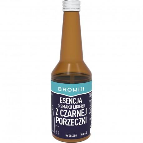 BROWIN Esencja smakowa - Likier z czarne j porzeczki na 4L alk. - 40 ml
